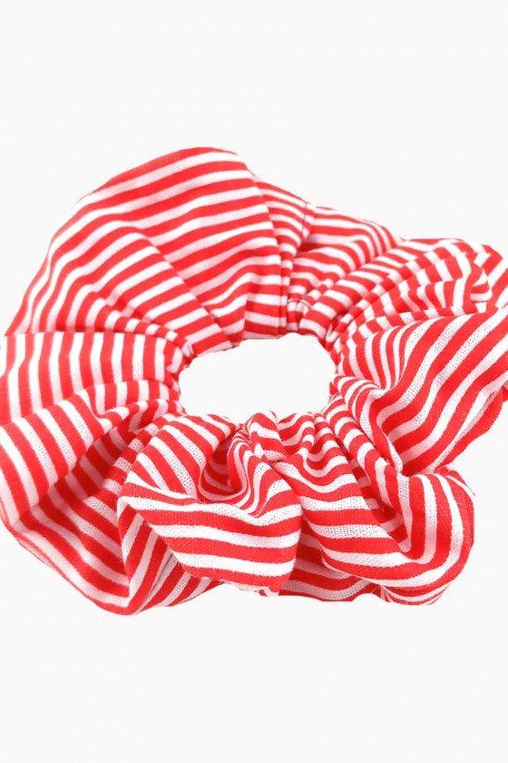 Scrunchie Sweet Lucy Dunut Simoni Listra Vermelha