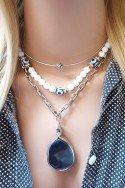 Colar Curto Colar feminino bijuteria com pingente Bijuterias online sweet lucy Colares femininos delicados