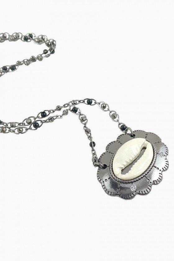 Colar Mandala com Letras Colares delicados Colares femininos Colares Curtos Bijuterias online Sweet Lucy