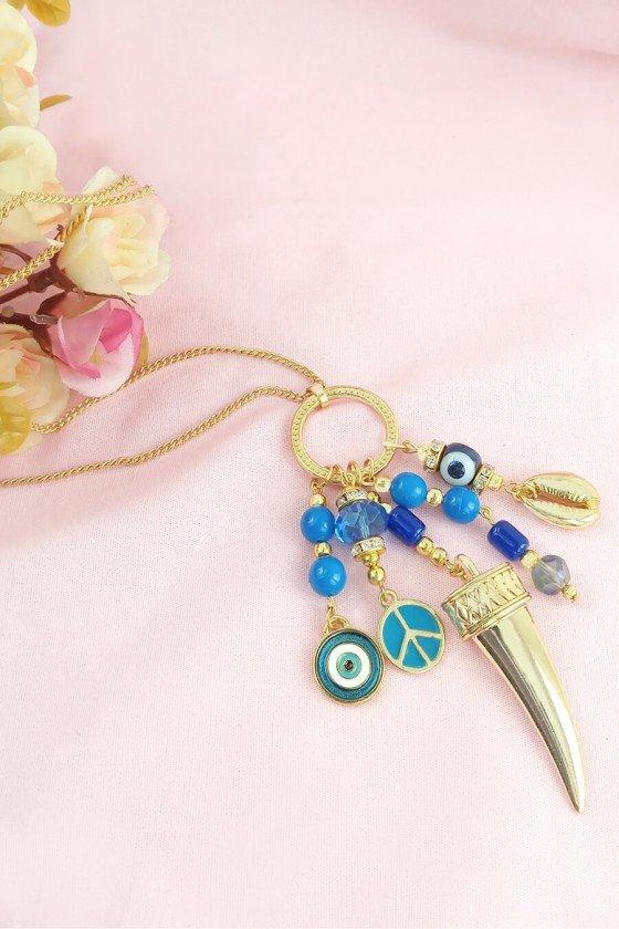 comprar colar olho grego colar com pingente olho grego semijoia colares femininos sweetlucy