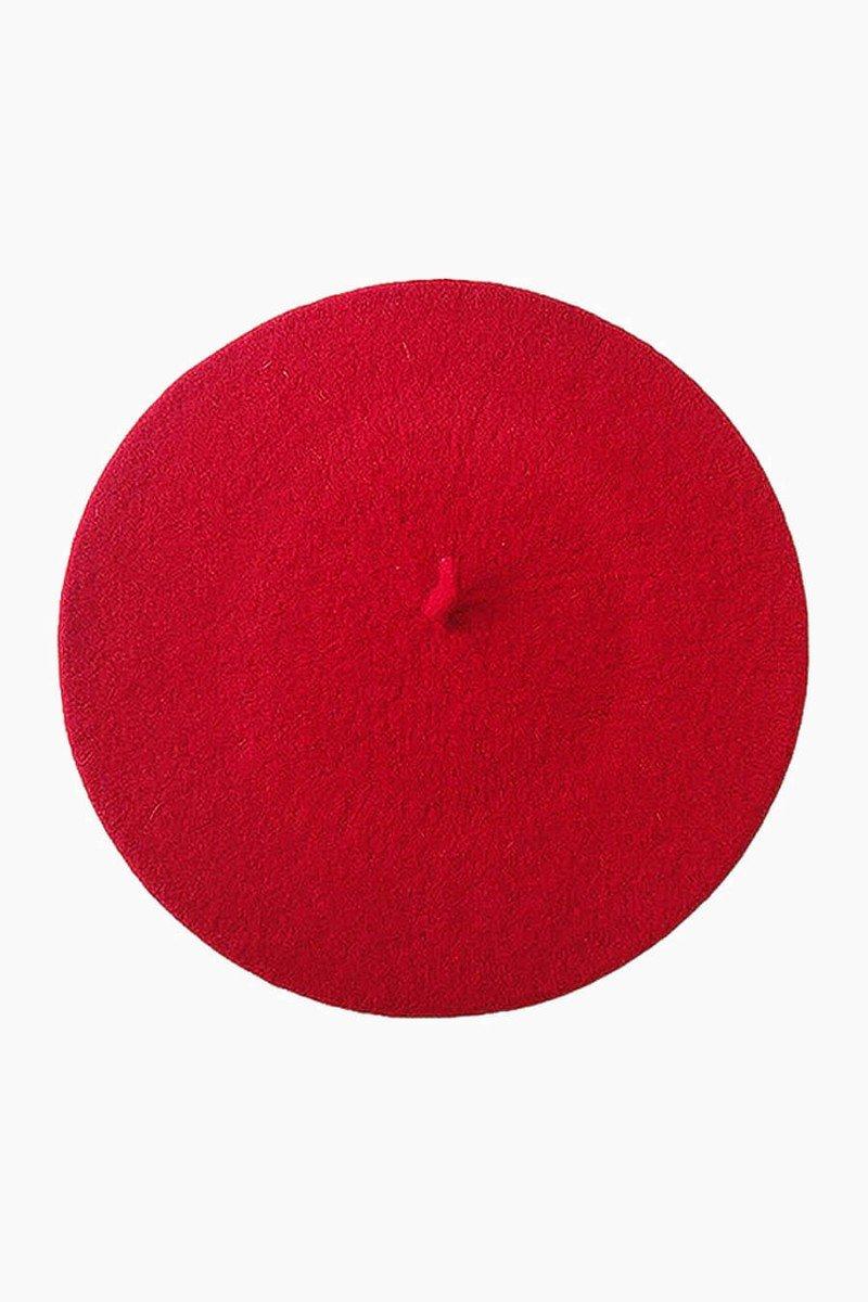 boina vermelha