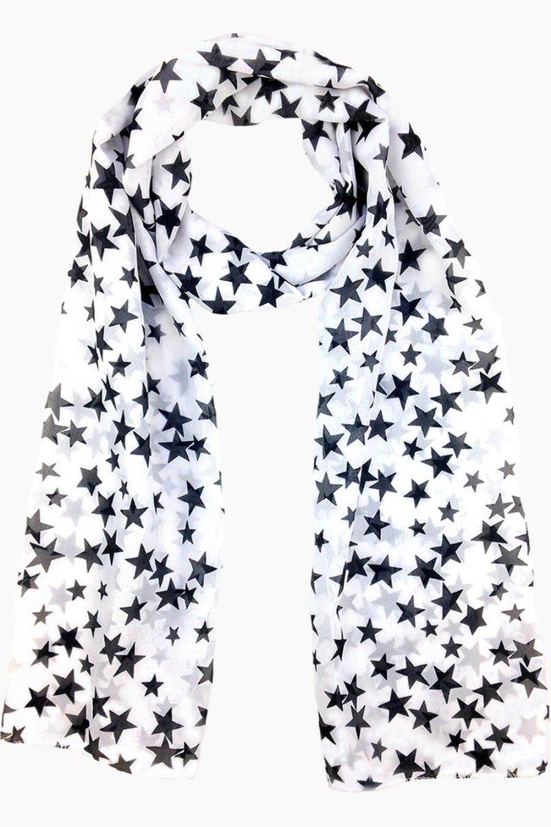 echarpe estrela lenço estampado estrela echarpes sweetlucy