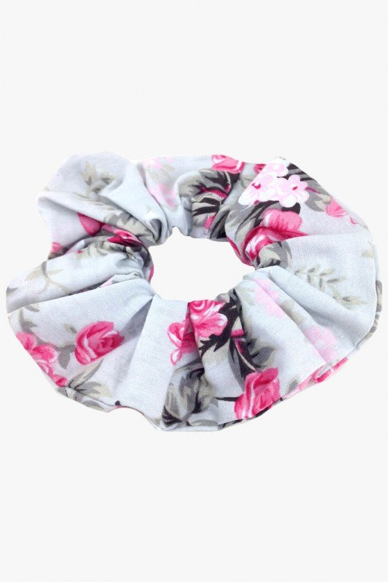Scrunchie Sweet Lucy Donut Luisa Floral Rosa