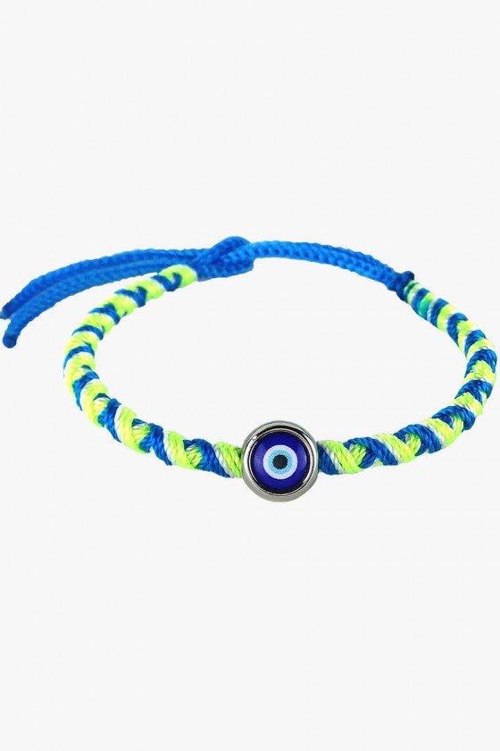 pulseira de cordão olho grego pulseiras femininas sweetlucy