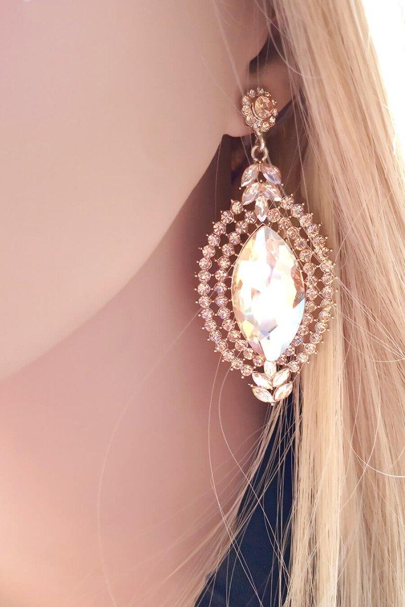 Maxi Colar Dourado com Pedras Coloridas - Maxi Colares da Moda - Sweet Lucy