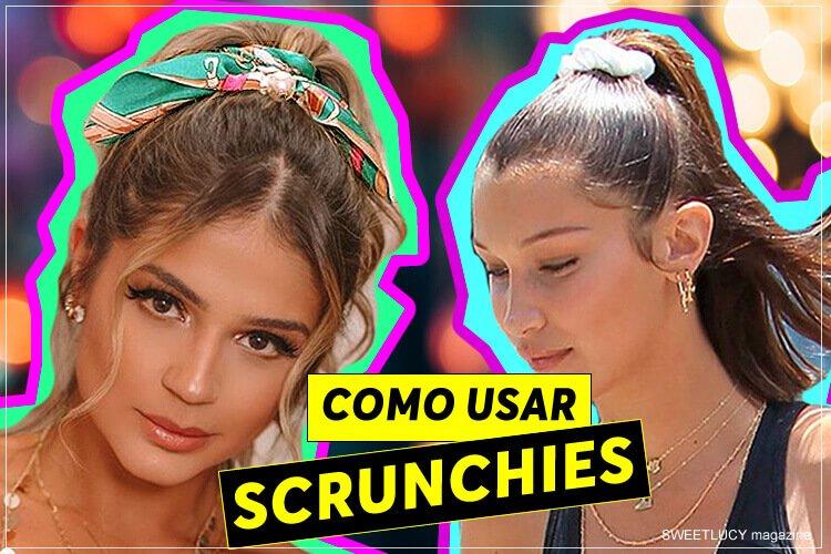 como usar scrunchies